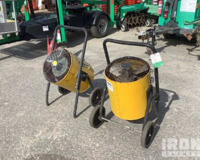 Lot of (2) Ground Heaters
