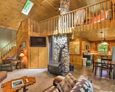 Trout Lake Cabin w/ Private Dock, Kayaks & Loft! - Bovey