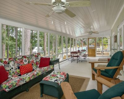 Beautiful Cottage Steps Away From Private Dock In Secluded Cove-Lake Allatoona - Woodstock