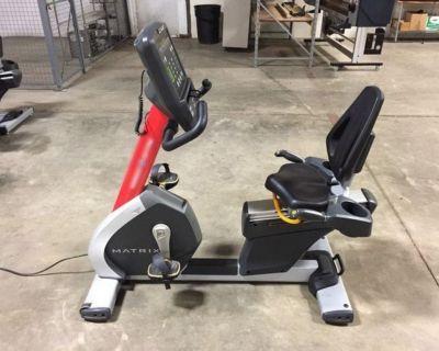 (4) Matrix Recumbent Cycle Bike RTR# 1043674-24-27