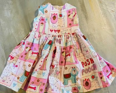 American Girl doll off brand Dress for 18 doll