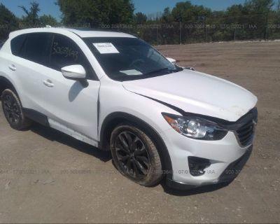 Salvage White 2016 Mazda Cx-5