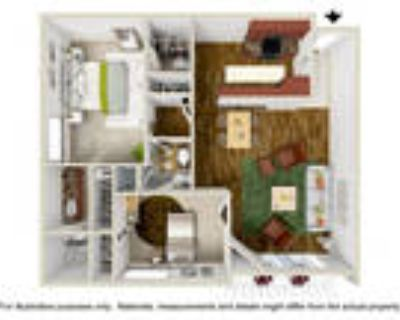 Parkway Plaza Apartments - 2 Bedroom 1.5/2 Bath