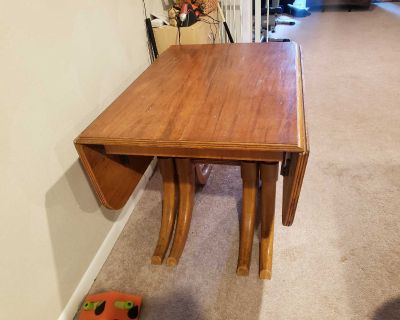 Table with drop sides