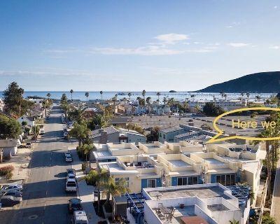 Luxury Avila Beach Condo, roof top patio = couch, heater, fire pit & hot tub. - Avila Beach