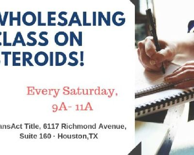 Wholesale Class - The Quickest & Easiest Ways in Making Big Money!