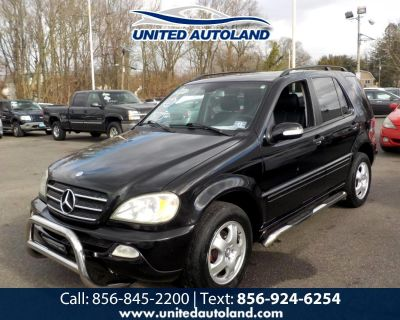Used 2004 Mercedes-Benz M-Class 4MATIC 4dr 3.5L