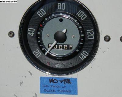 Speedometer restoration service- lifetime warranty