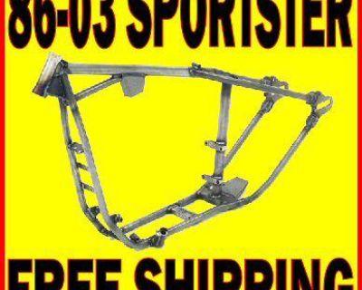 Paughco Rigid Bobber Chopper Motorcycle Frame Harley Sportster No Stretch 30 D