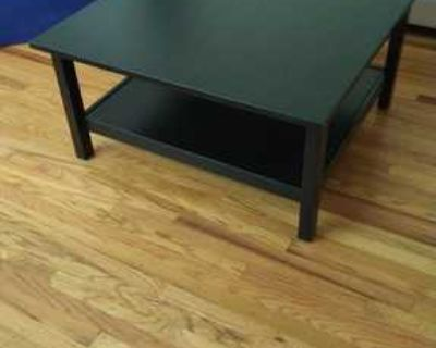 Large ikea coffee table with storage