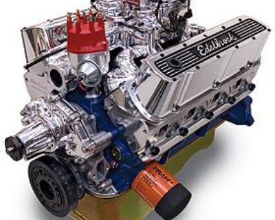400 Hp Ford 347 Stroker With Edelbrock Heads