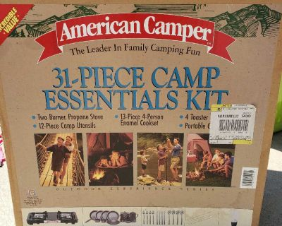 NEW!! Camping Gear