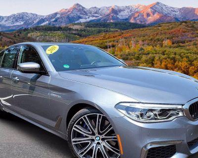 2018 BMW 5 Series M550i