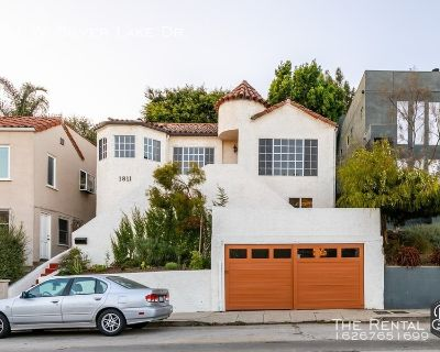 Stunning Spanish-Style Home   Prime Silverlake   Private Patio W/ Garden   Two Car Garage