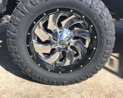 Ford F250 Fuel Cleaver 2 pc Wheels 22x10 -13mm