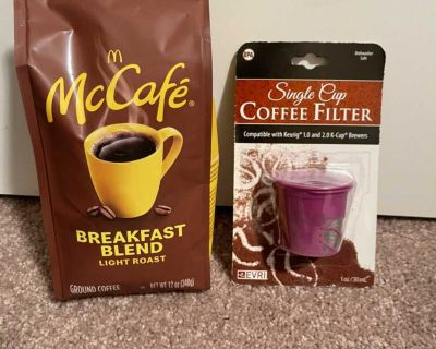 New McCaf coffee and Kuerig filter