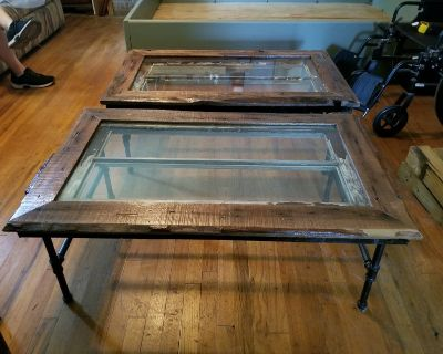 2 Hand crafted coffee tables