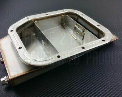 P2m Large Stainless Oil Pan For Nissan Rwd Sr20det P2-opnsr20-gd