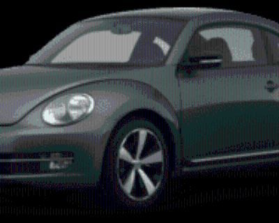 2012 Volkswagen Beetle Turbo Manual