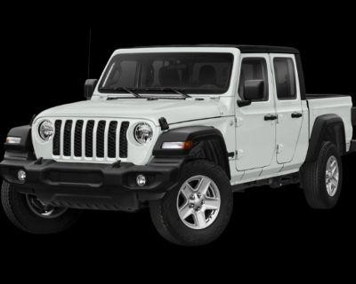 New 2021 Jeep Gladiator Sport 4WD Crew Cab Pickup