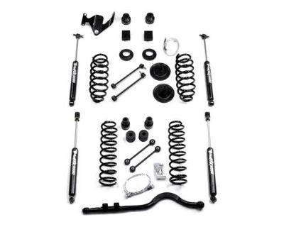 "Teraflex 4"" Suspension Lift Kit W/ 9550 Shocks 07-13 Jeep Wrangler Jku 1251400"