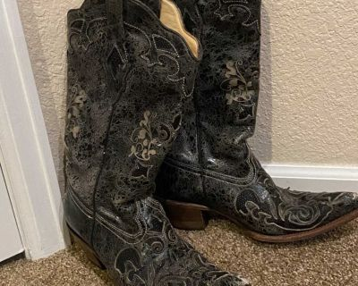 Corral Vintage Boots Gray Size 10 Med