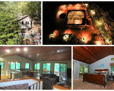 Woodland Retreat with HOT TUB & DECKS, 2 miles from downtown! - Asheville