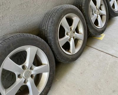 Tires and rims 205/55R16