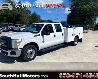2011 Ford F-350 SD XL Crew Cab Long Bed DRW 2WD