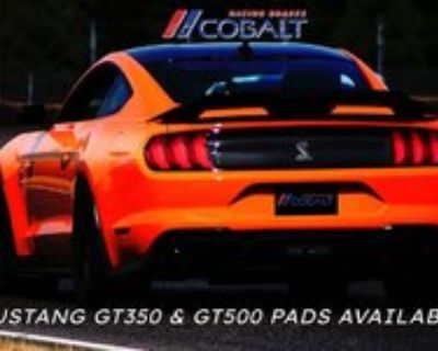 Cobalt Racing Brakes - GT350 and GT500 pads available now!