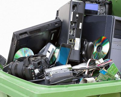 Safely recycle your electronic waste (E