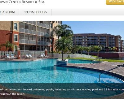 Timeshare from Westgate Town Center Resort & Spa in Orlando, Florida for rent - Four Corners
