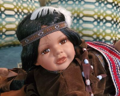 Native American Porcelain Dolls - Cathay Collection