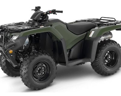 2021 Honda FourTrax Rancher ATV Utility Chico, CA
