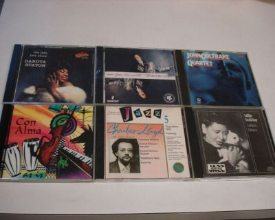 6 RARE JAZZ MINT-CD's ~ Billie/Coltrane/Lloyd/Con Alma/Chico/Dakota !