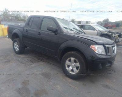 Salvage Black 2013 Nissan Frontier