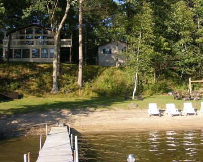 Peaceful Family Lake House on All Sports Sunrise Lake - Le Roy