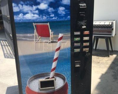 USI CD8 Electrical Can Soda Vending Machine