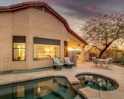 Epic Superstition Views with Private Casita, Heated Pool and Spa! - Gold Canyon