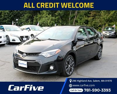 Used 2016 Toyota Corolla 4dr Sdn CVT S w/Special Edition Pkg (Natl)