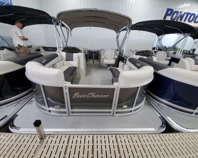 2021 SunChaser GENEVA 20 LOUNGER DH Pontoon Boats Kaukauna, WI