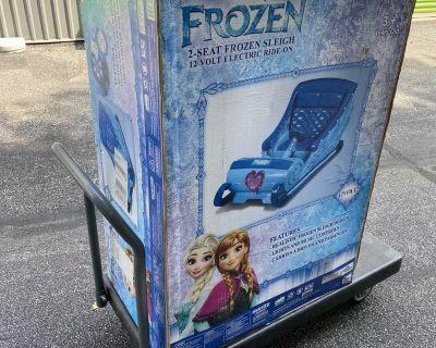 Electric Kids Frozen Sleigh Power Wheels