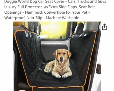 New Dog car / truck / SUV set cover