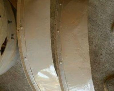 Pair (both) Fenders For K38 Lineman Trailer ..( G503 Bantam Willys K-38 Crawler)