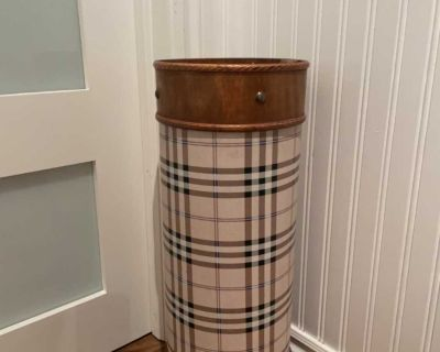 Burberry Style Umbrella Holder great for entrance way or even in your front closet