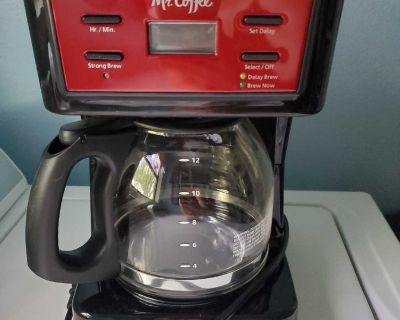 Mr.Coffee coffee maker only used once