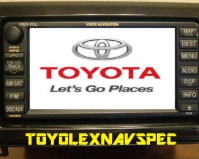 Toyota Tundra Sequoia Gps Nav Navigation Radio Non Jbl 2007 To 2013 Complete Kit