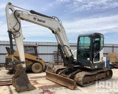 2013 Bobcat E80 Track Excavator