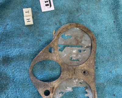 Early type 3 dual horn grill gasket seal