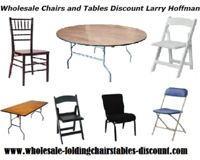 Wholesale Chairs and Tables on Discount from Larry Hoffman